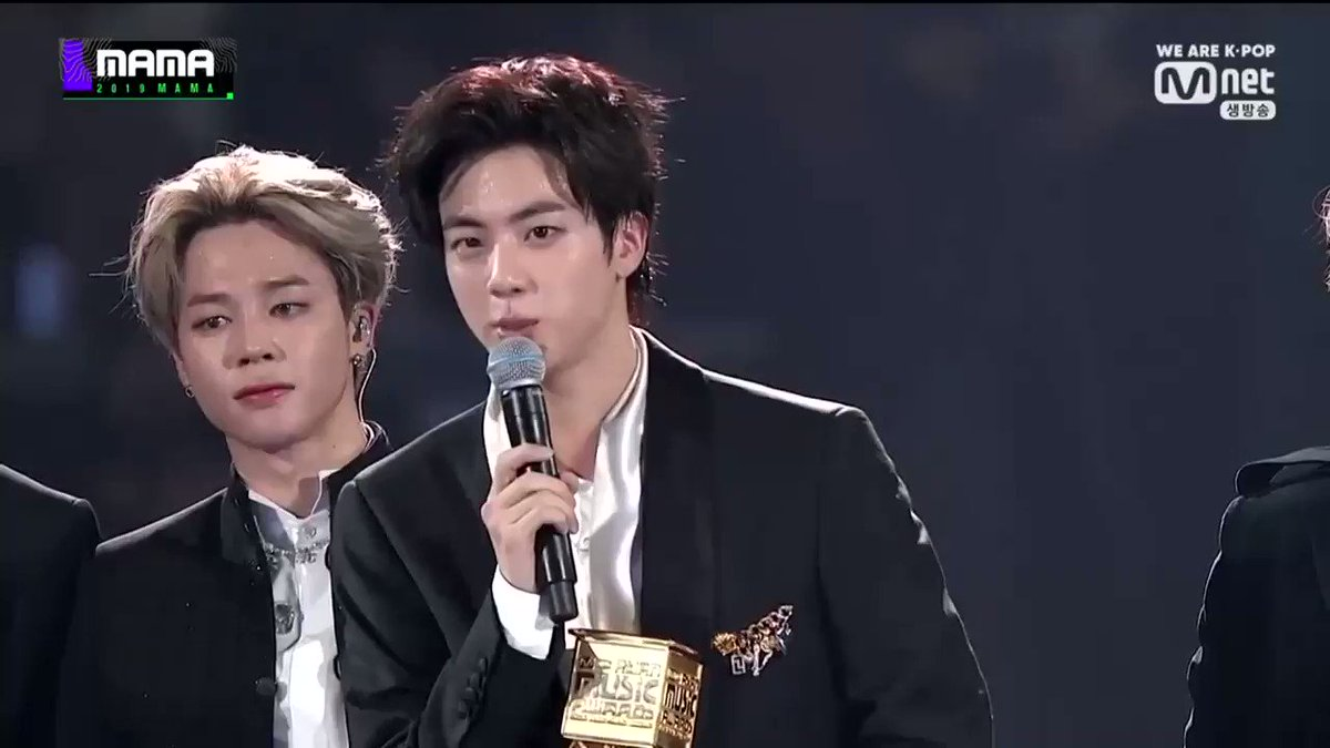 Jin: Why dont we make good music in more honest ways? The vice chairman of the Korea Music Label Industry Association appreciated Seokjin for speaking out on the cheating issue in the music industry! 💜 twitter.com/_jimintoday_/s…