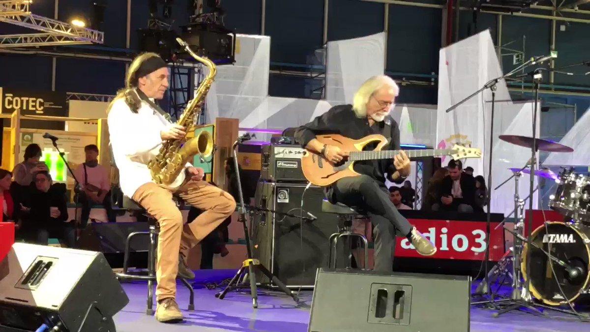 Image for the Tweet beginning: Tres músicos excepcionales Jorge Pardo,