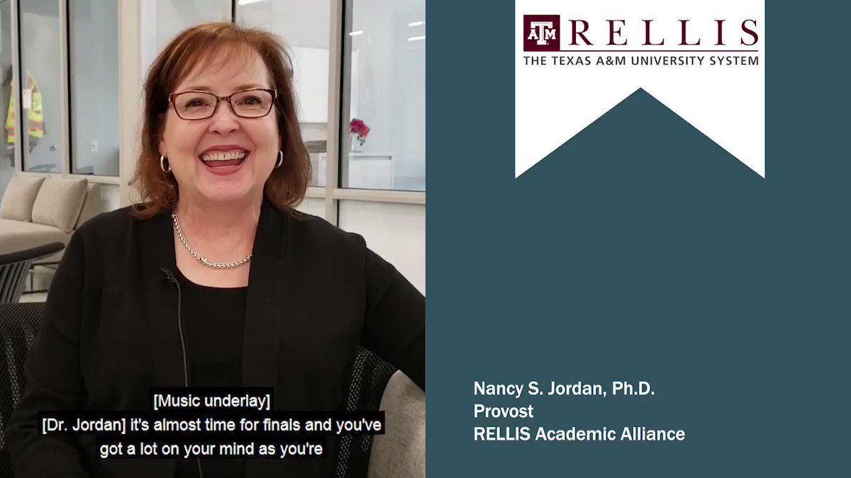 #GoodLuckRELLIS, and good luck on final exams to all of our #SystemScholars. You got this. 👍🏽