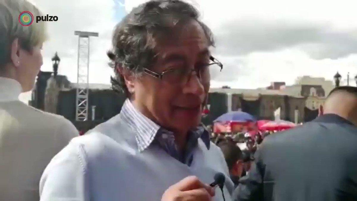 """""""Si el movimiento se debilita, Duque viene por todo"""": @petrogustavo, al hablar del #4DElParoSigue #Paro4D #ParoNacional #ParoOtrabajo"""