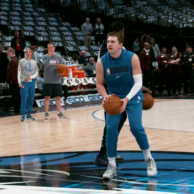 Luka from halfcourt!    #PhantomCam x  #MFFL    Action tips NOW on NBA LP!