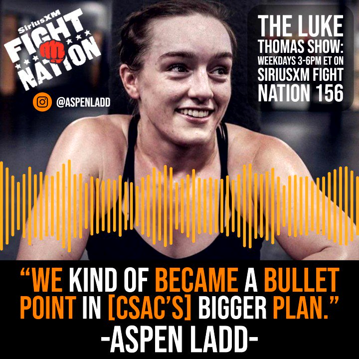 🔊@AspenLaddMMA reveals a critical aspect to her CSAC appeal of her TKO loss at #UFCSacramento that was misrepresented to the public #TLTS @lthomasnews  ⬇️⬇️⬇️⬇️⬇️⬇️⬇️⬇️⬇️⬇️⬇️⬇️⬇️⬇️⬇️⬇️⬇️⬇️⬇️⬇️