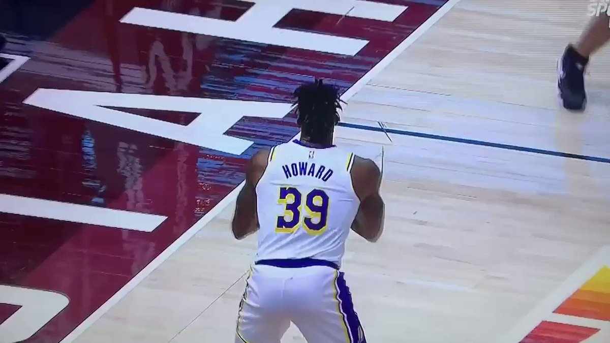 Dwight Howard has hit the same amount of 3's as Ben Simmons this season
