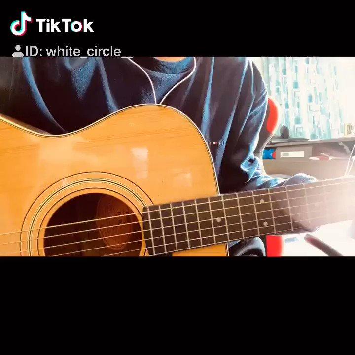 TikTokではやってるよねぇこれ歌いたくてうずうずしてたから歌っちゃった。⚠️ギターは弾けません。弾き語りの雰囲気出したかっただけですごめんなさい。