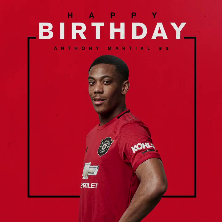Bon anniversaire,  @AnthonyMartial!
