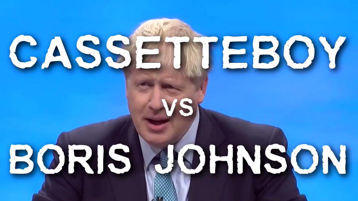New! Cassetteboy vs Boris Johnson