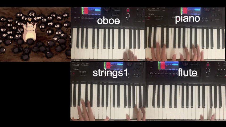 千と千尋の神隠しから、いのちの名前をオーケストラ演奏してみました!#ジブリ#弾いてみた#千と千尋の神隠し#DTMerと繋がりたい フル→ @YouTubeより