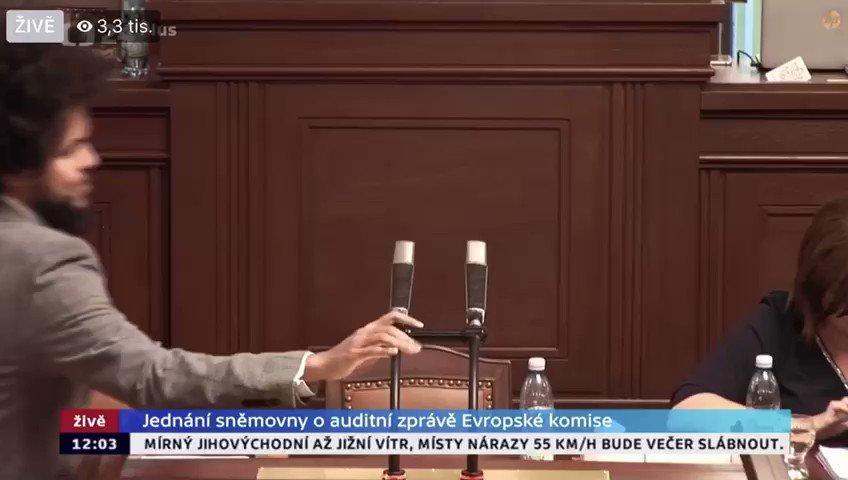 Image for the Tweet beginning: Dnešní debata o auditu, který