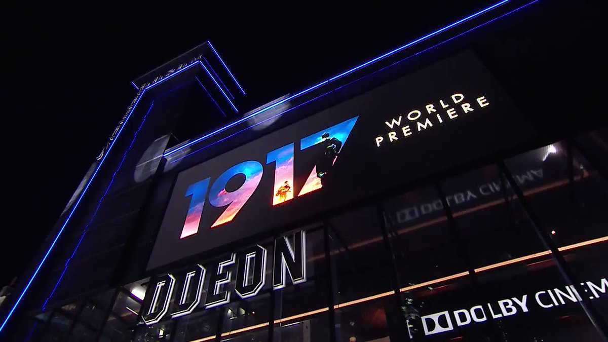 Watch all the action from the World Premiere and Royal Film Performance of #1917Film, as director Sam Mendes is joined by George MacKay, Dean-Charles Chapman, Richard Madden, Mark Strong, and Andrew Scott. Book tickets now: bit.ly/2LreGXr