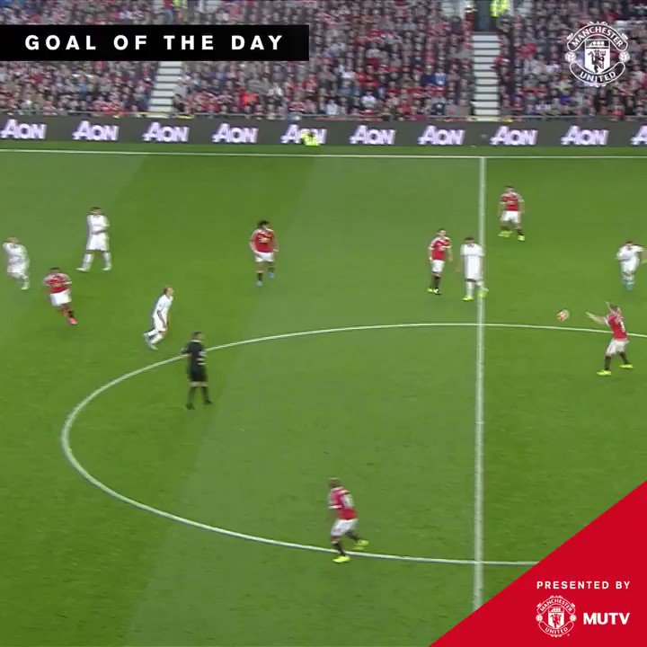 What a way to make your  #MUFC debut    @AnthonyMartial  #GoalOfTheDay