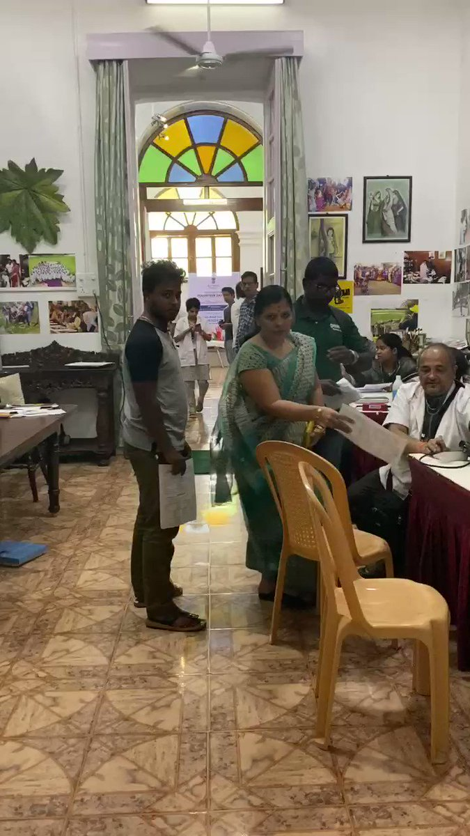 RajNivas hosted an annual blood donation camp today. More than 52 donors volunteered. Including our own @ashapondy and members of her team. @OfficialJipmer @LGov_Puducherry @BloodDonorsIn #InternationalVolunteerDay @MoHFW_INDIA