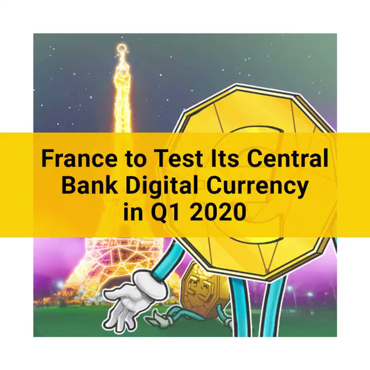 Image for the Tweet beginning: The central bank of France