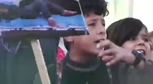 Kurdish boy at funeral of the 8 children slaughtered by Turkish artillery in northern Syria. Name a group that is more resilient than the Kurds. I will wait. #Proud #Kurdistan #Şervano ♥️