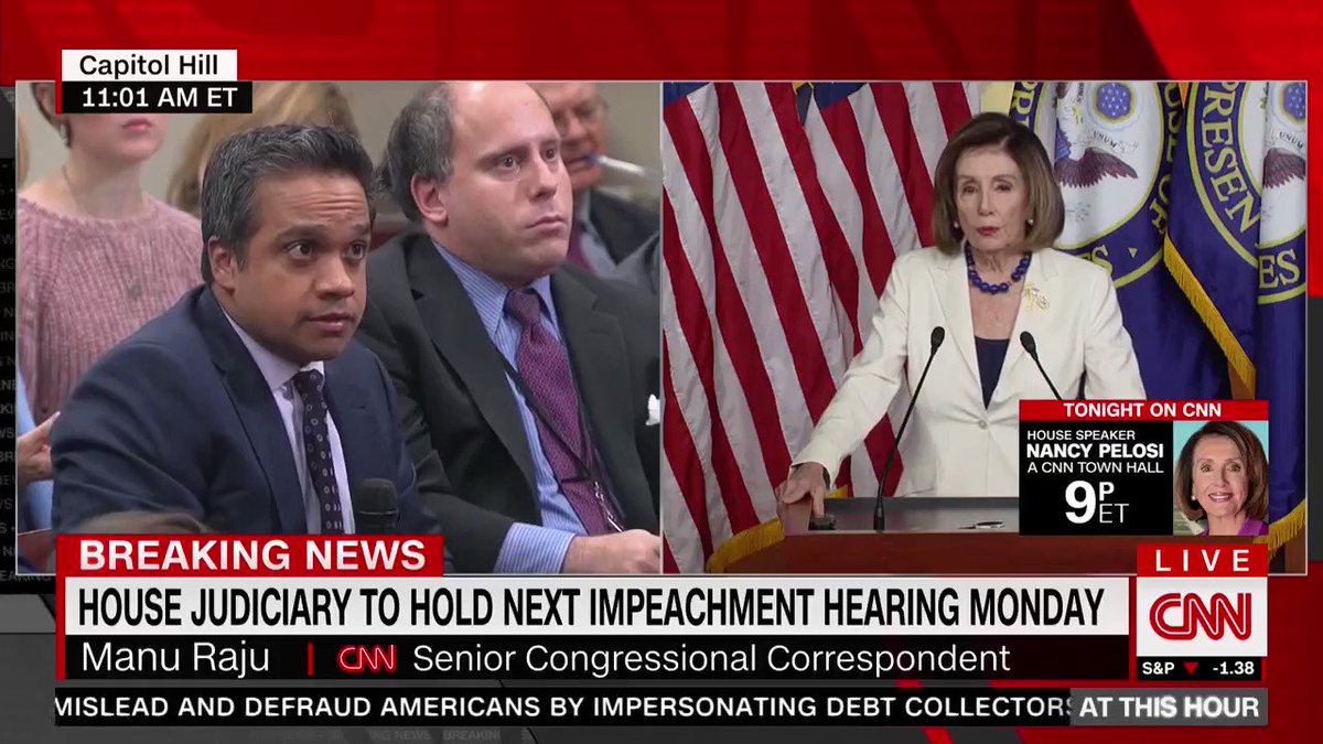 """The audacity of Nancy Pelosi.  She just claimed, """"This has absolutely nothing to do with politics.""""  House Democrats boycotted the inauguration, lied about Russia collusion, and admitted they want to impeach @realDonaldTrump to stop him from winning in 2020.  It is ALL politics!"""