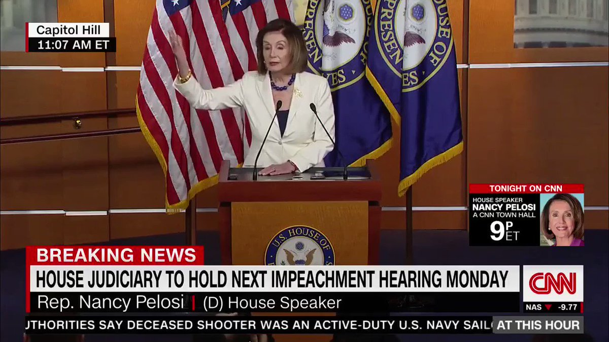 """I think the President is a COWARD when it comes to helping out kids who are afraid of gun violence......I think he is CRUEL when doesn't deal with helping our Dreamers.......i think he is in DENIAL about the climate crisis..."" @SpeakerPelosi is NOT here to play!"