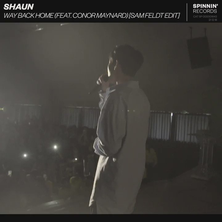 This year, K-pop star SHAUN 's major hit 'Way Back Home' was reworked by @SamFeldtMusic feat. vocals by UK singer @ConorMaynard. It has now reached the incredible milestone of 100M @Spotify streams! 🔥 Congrats!    #SHAUN #ConorMaynard #SamFeldt #KPop #SpinninRecordsAsia