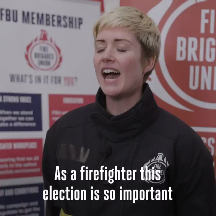 Firefighters face a stark choice at this election; a transformative @jeremycorbyn-led government that will rebuild the fire and rescue service; or another five years of disastrous Tory cuts#GE2019 #RealChange