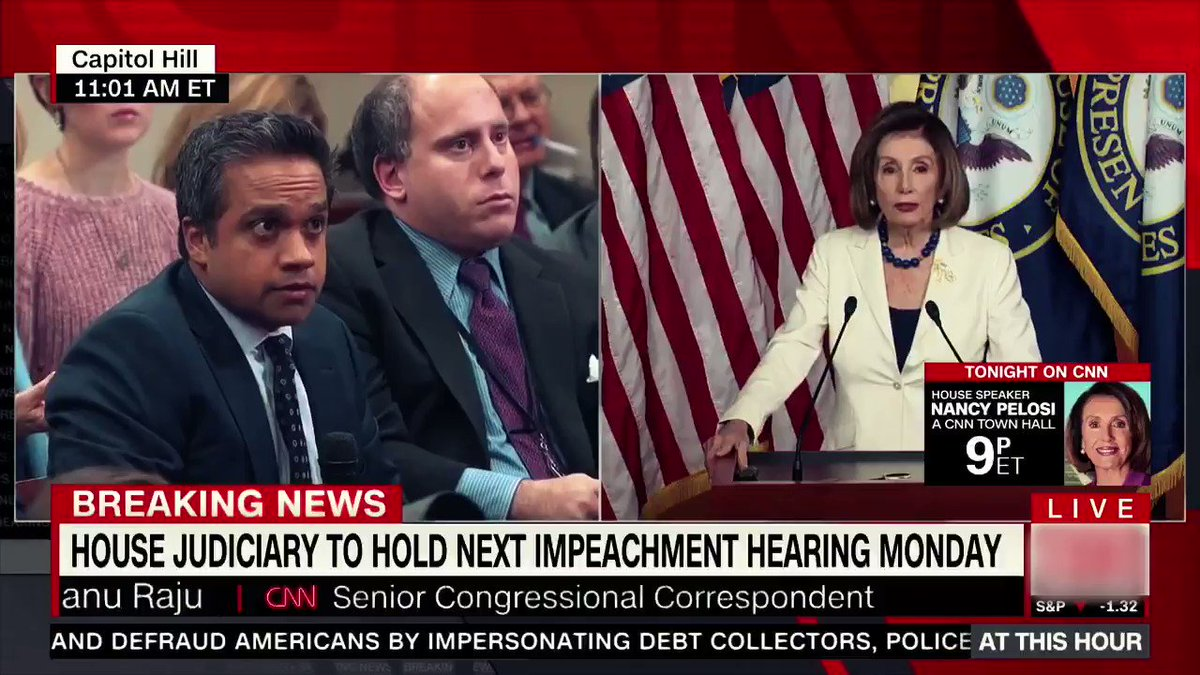 Nancy Pelosi claims impeachment is not about politics. Then why has she been conducting focus groups on it? It's ALL politics and her own caucus has admitted it!