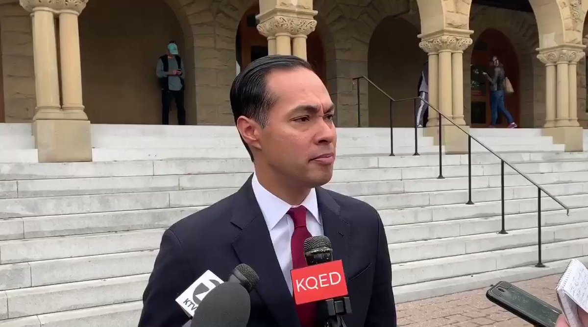 Julian Castro 🎯 Iowa and New Hampshire should not be the first two states that vote in the presidential primary as they are two states with hardly any people of color. Iowa is 90.6% white New Hampshire is 93.9% white