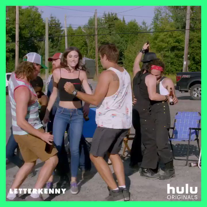 You can watch all episodes of the new season of Letterkenny December 27 if you want to.
