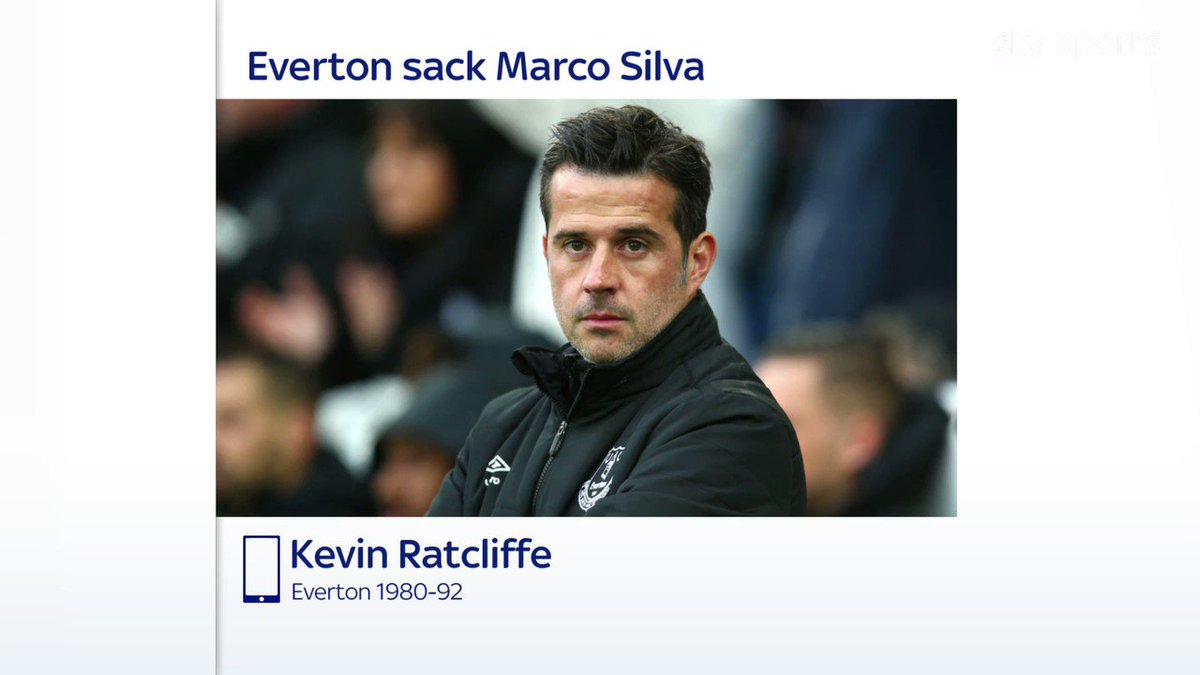 I think the club was too big for him. 🍬🔵 Former Everton defender Kevin Ratcliffe was not surprised by Marco Silvas sacking and felt the scale of the job was too big for him from the start: skysports.tv/xlBGe3