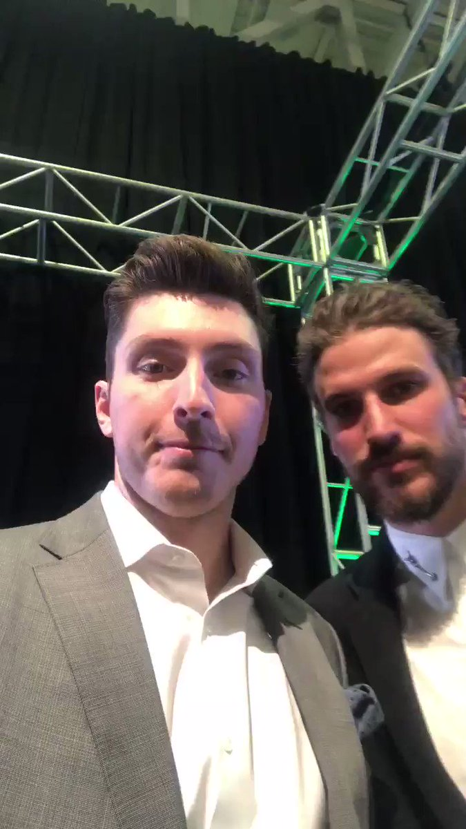 #NASCARAwards x @PredsNHL We're pumped to have @Matt9Duchene and @rjosi90 joining us tonight in Smashville!