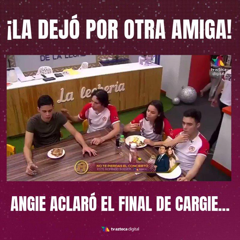 Al fin, ¡Angie habla sobre el final de Cargie en #LaAcademia! 💔😅