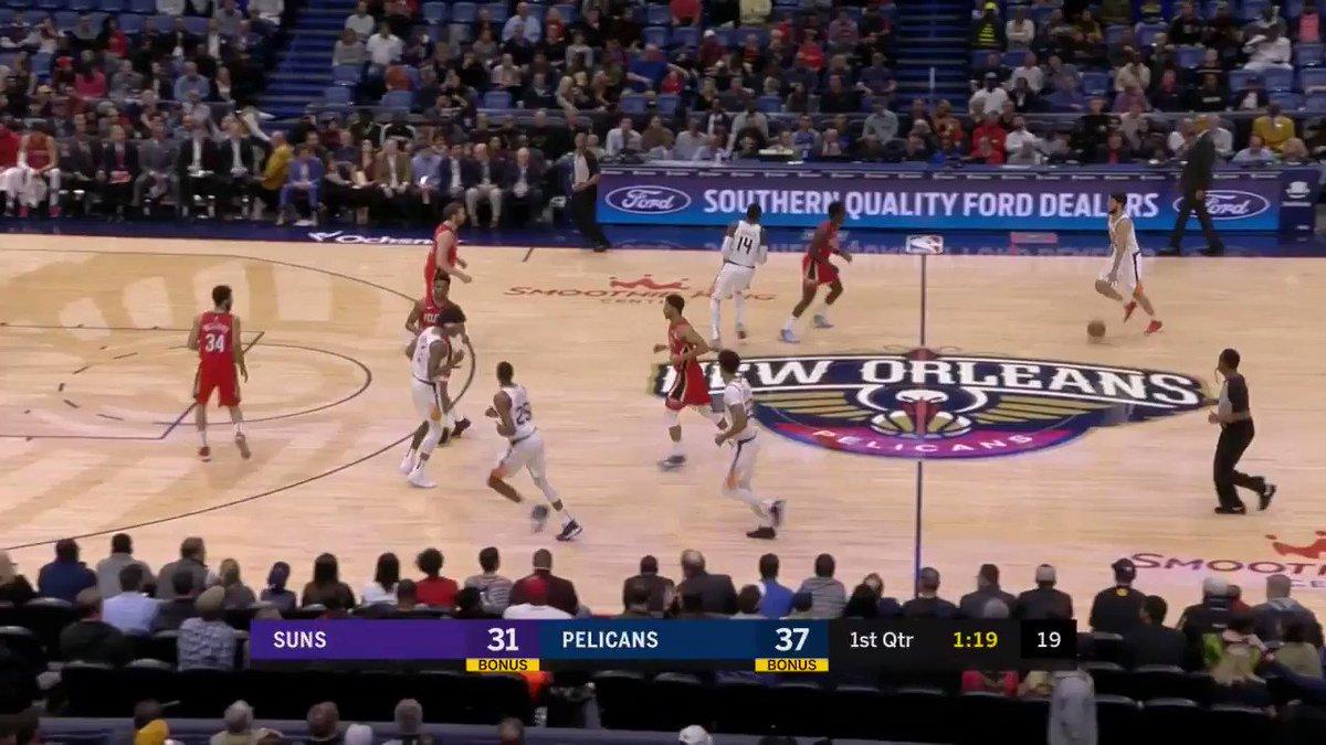 Phoenix rookie Cam Johnson ties his season-high with 18 PTS (4 3PM) in the @Suns OT win!   #NBARooks #RisePHX
