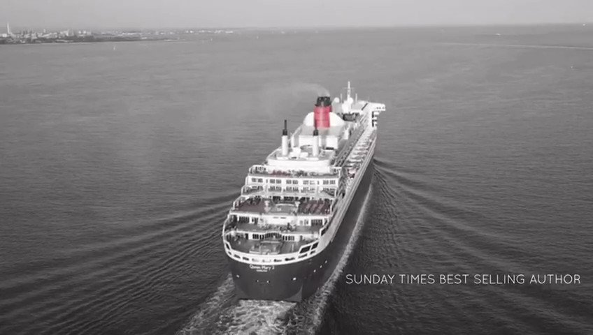 Flying out to New York this weekend to board the stunning Queen Mary 2. I will be sharing my story with all the guests. You can get a personalised signed copy of my book using the link below. Decent stocking fille🎄 brianwoodmc.co.uk/store