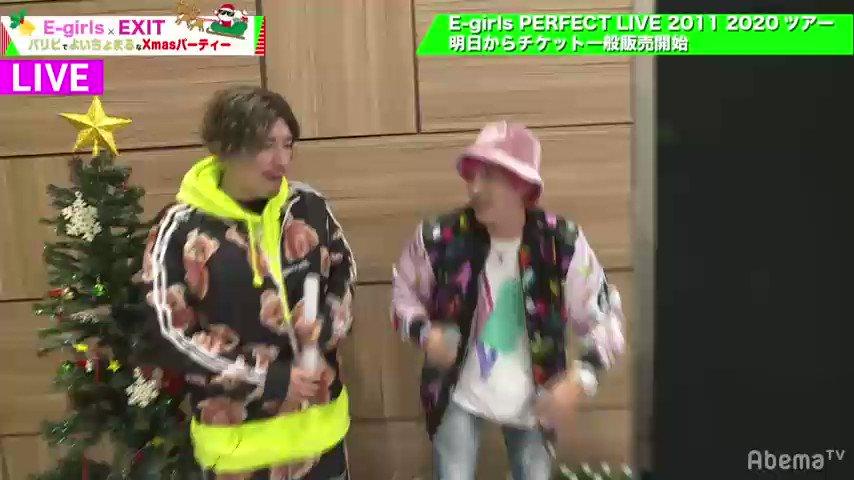 かねち(笑) @AbemaTV で視聴中  #egirls