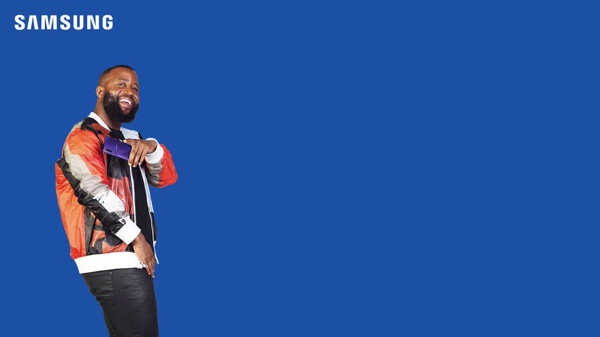 Get to the #SamsungStore @MallOfAfricaSA at 3pm today and meet Abuti FillUp @casspernyovest, fam! Dont live life, nje, live a #GalaxyALife!