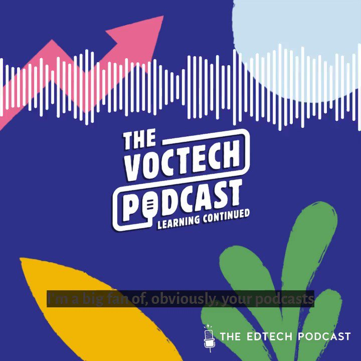 #FridayVibes This weeks #VocTech episode guest @ShaunGear1 loves to listen to our #edtechpodcast when hes driving! 🙌 Wed love to know when you listen to the pod? COMMENT below 😁😁😁 🔻 🔻 🔻 SUBSCRIBE👇if youd like to have the latest episodes podcasts.apple.com/gb/podcast/the…