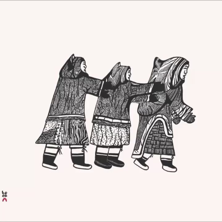 Image for the Tweet beginning: ᐅᖃᐅᓯᓕᕆᔾᔪᑎᕗᑦ ᐅᓪᓗᒥ Word of the day ᐊᕐᓇᐃᑦ