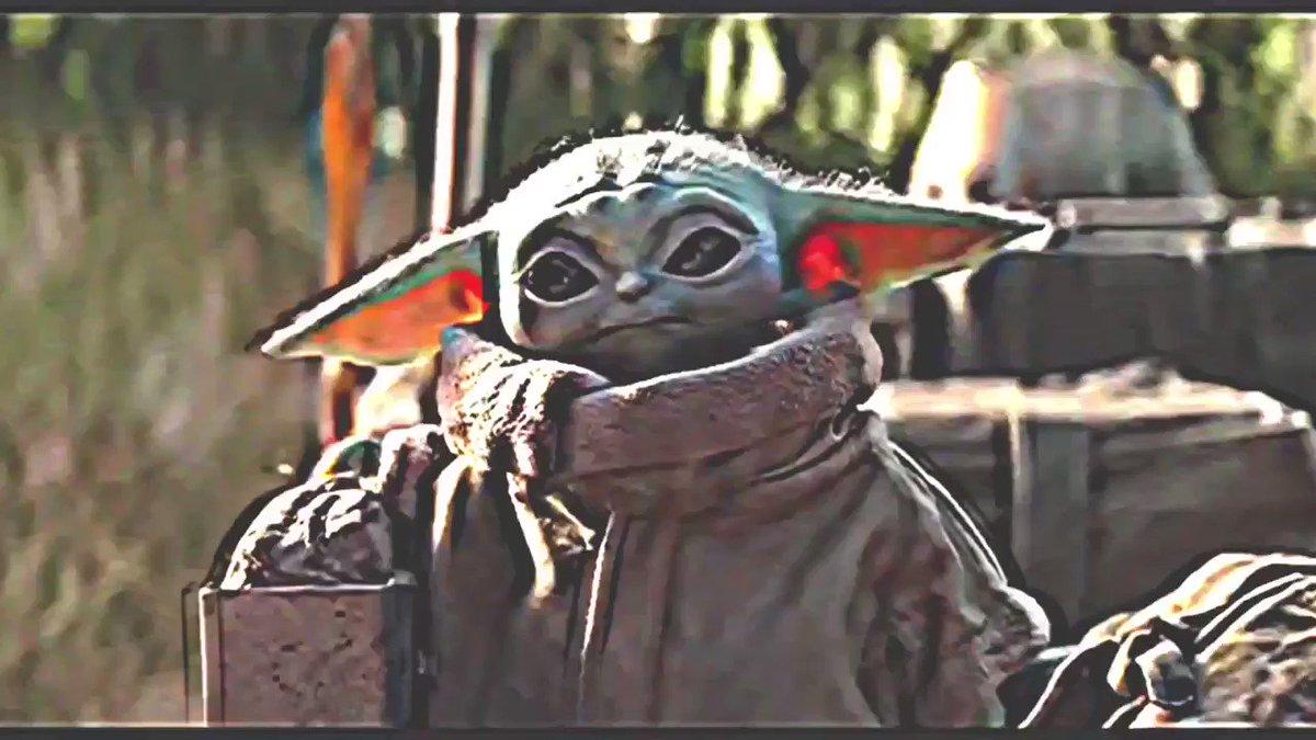 Mando and Baby Yoda get an uplifting 80s TV intro (via @skolanach   #TheMandalorian)