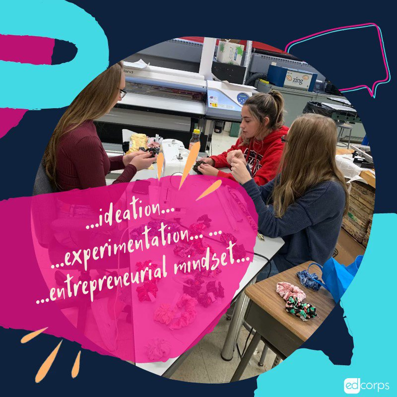Shout out to @iSHCo_EFHS ! 4 years of ideating + prototyping + experimenting to keep their products fresh year to year. Catch these young #EdCorps  #makers  and #entrepreneurs  in action at #HandmadeArcade2019 ! @DrToddKeruskin  @keithkonyk  @brocco187