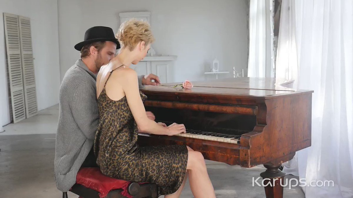 Karups update - Blonde MILF Natalie Anne gets piano lessons before having her teacher pound her tight older pussy on the piano bench. 👉 Watch it at Karups.com