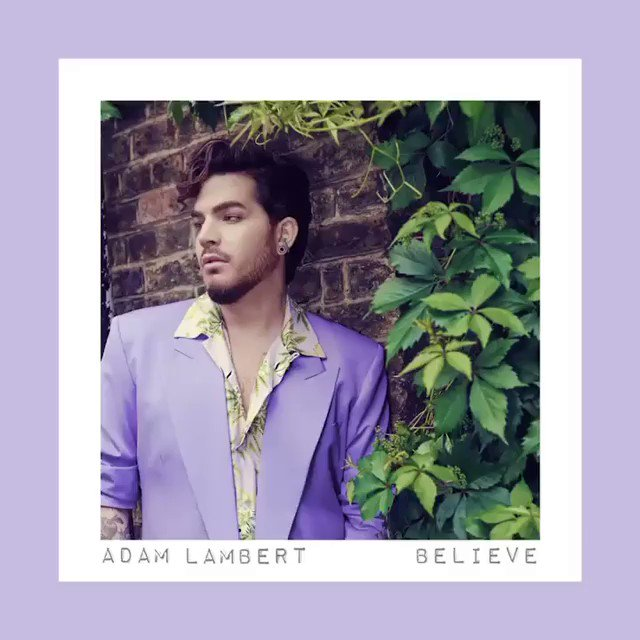 You asked... @adamlambert listened... then sung his heart out 💜 #Believe Out Now‼️  https://Empire.lnk.to/BelieveLambert