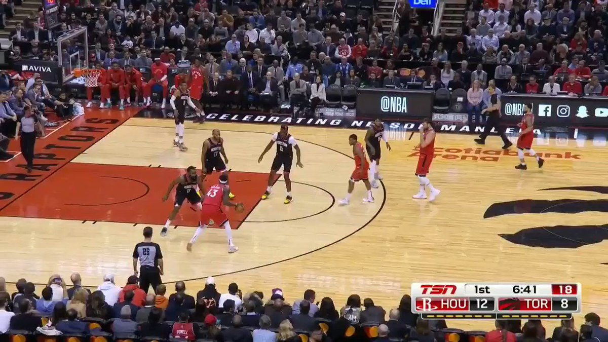 How James Harden's defense gave Pascal Siakam fits inside