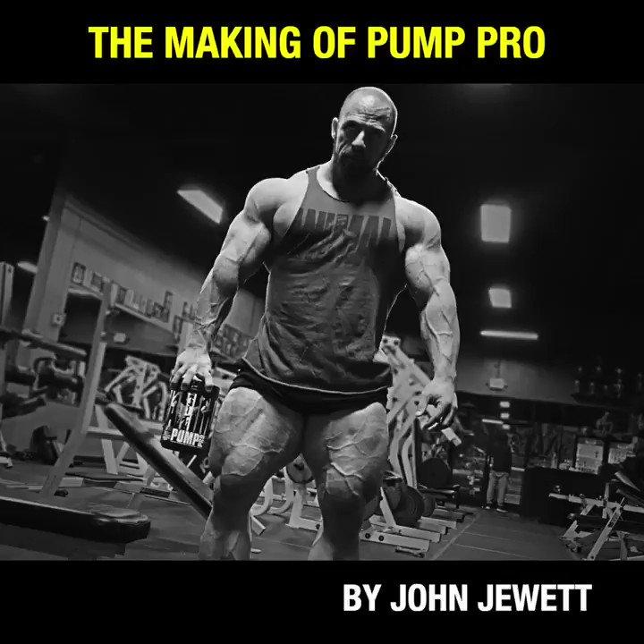 Image for the Tweet beginning: Animal's newest non-stim pump formula,