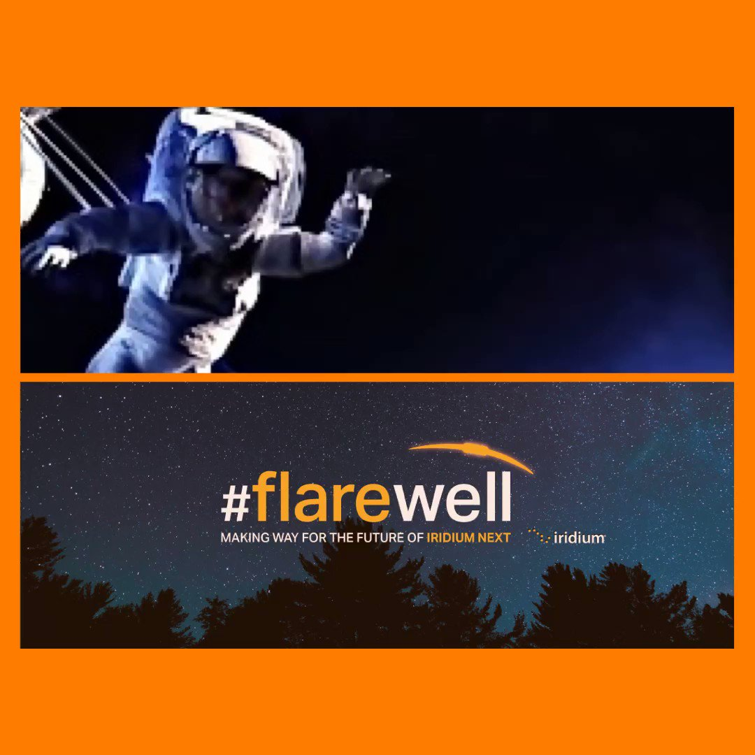 Image for the Tweet beginning: Onto a new era. #flarewell
