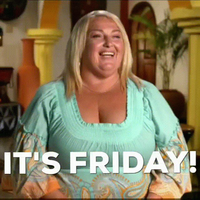 TGIF it's Friday! Only two more days until egg totting and cake swindling. Who's ready? #90dayfiance
