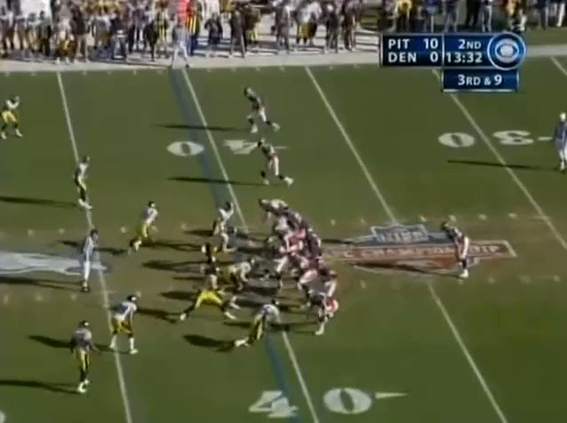 With Troy Polamalu snubbed from the NFLs All-Time team, heres my pick for most jaw-dropping play he ever made. Not the most impactful, theres at least a dozen of those ahead of this one, but peak no one else could make this play moment. #Steelers