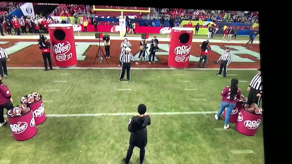 Overhand thrower wins Dr. Pepper Challenge, becomes football hero