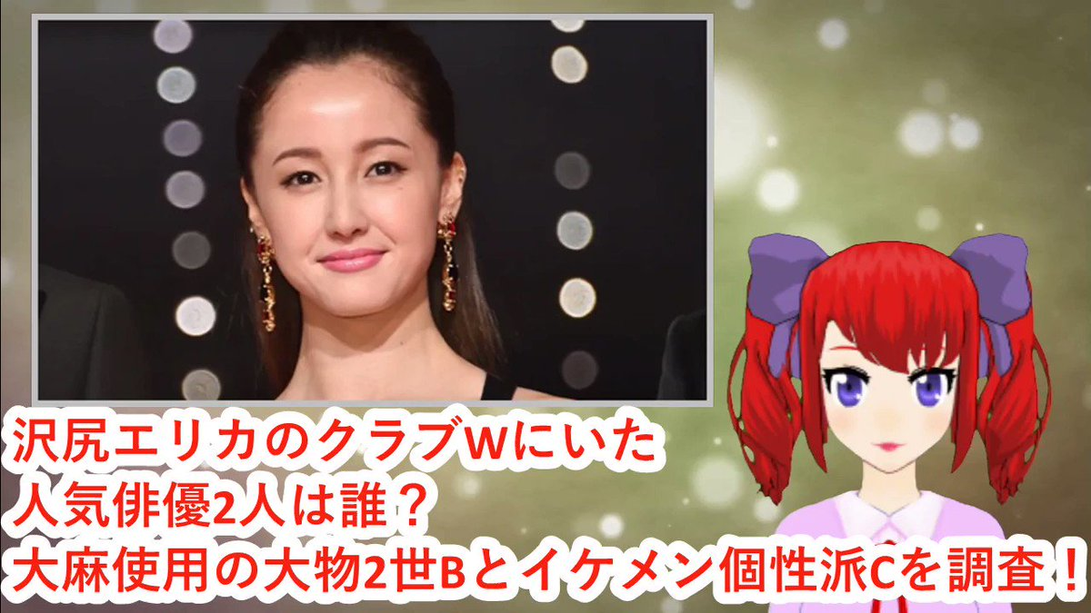 2 人 エリカ 俳優 誰 沢尻