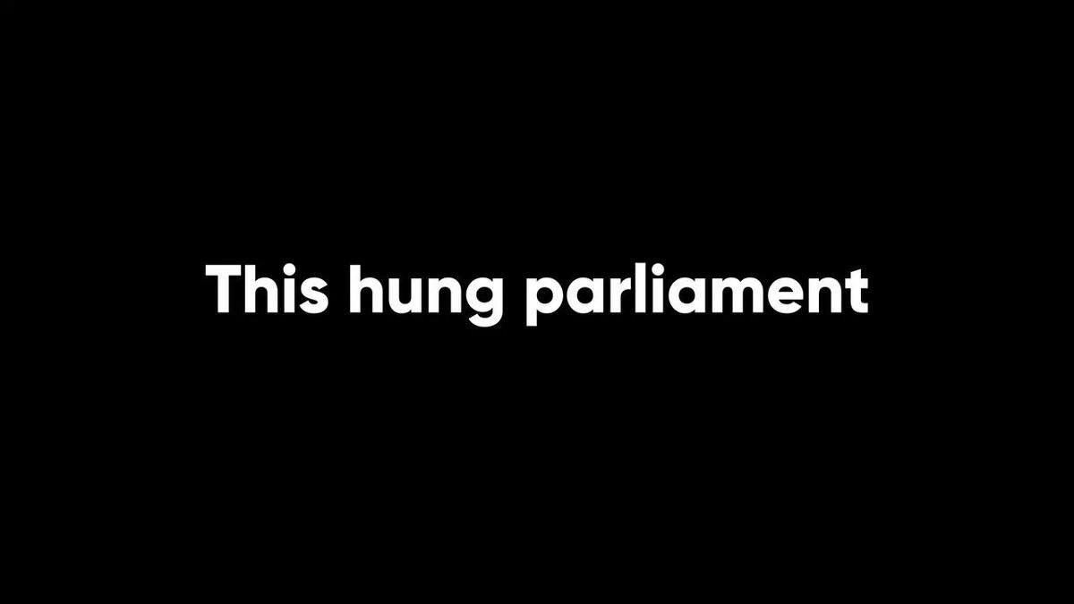 Avoid another hung parliament. Vote Conservative.