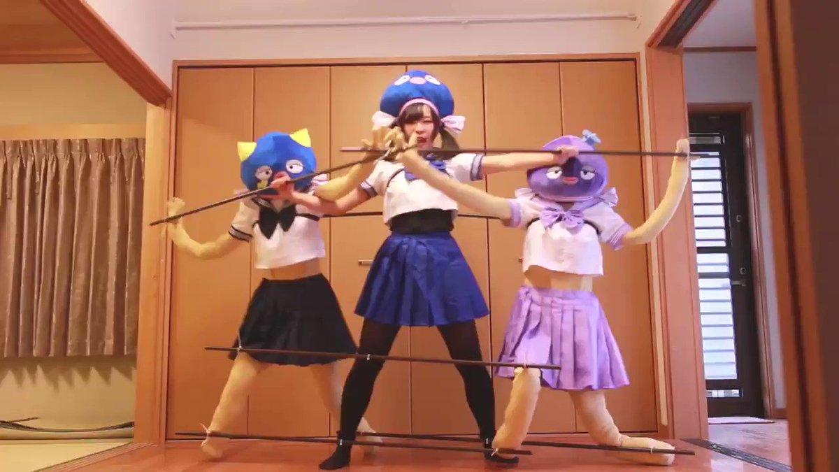 3人で「ポジティブ⭐︎ダンスタイム」踊ってみた🐟素敵なお友達と一緒に踊りました!()ダンマスワールドにエントリーしています☀️キラキラのステージで3人で踊りたいです🙌再生、マイリス、コメント、拡散してもらえると嬉しいです😢🙏フル▷