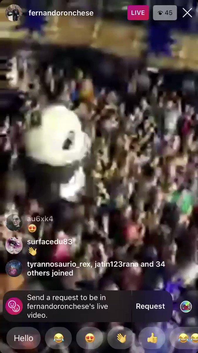 Image for the Tweet beginning: just a panda vibing