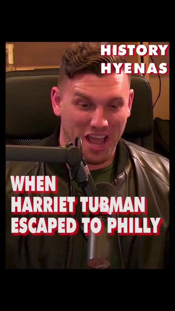 Harriet Tubman escaped to Philly. @HistoryHyenas