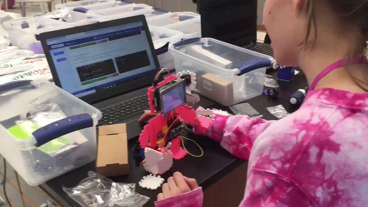 Building robots with #AutoAuto electronics! @AutoAutoAI