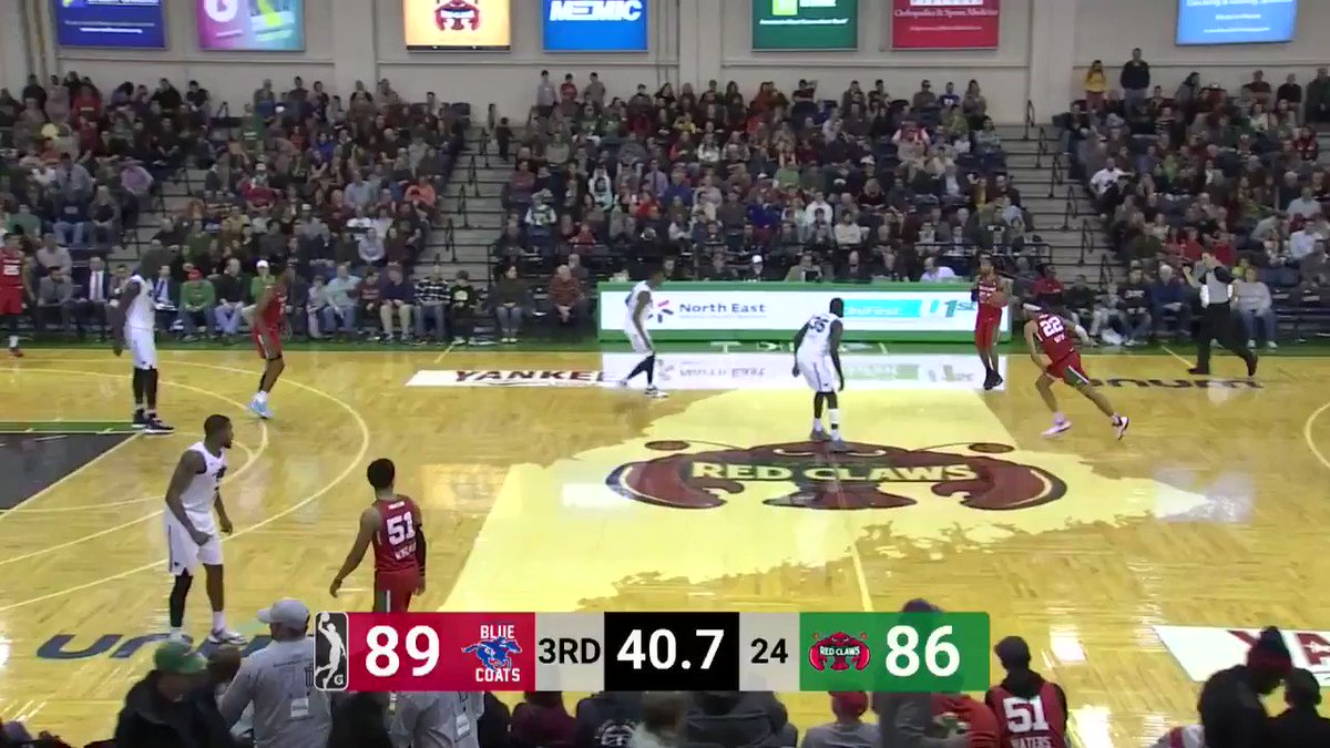 Tremont Waters logs double-double, Vincent Poirier 18 with Red Claws